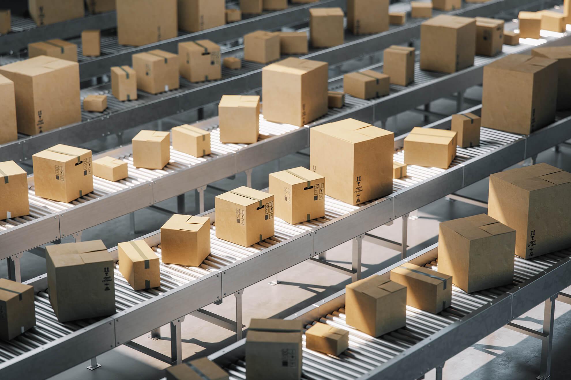 Boxes ready to ship